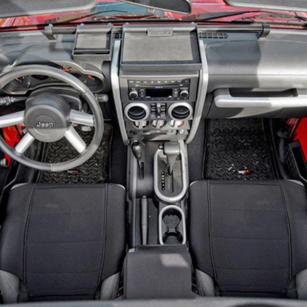Rugged ridge jeep wrangler 2007 2010 interior for Interior jeep accessories