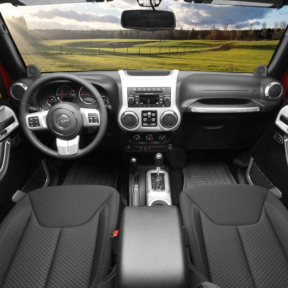 Rugged Ridge Jeep Wrangler 2015 Interior Trim Accent Kit