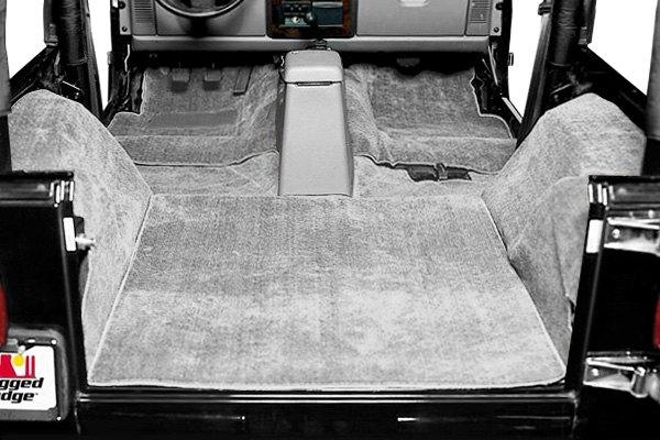 All Black Jeep Wrangler >> Rugged Ridge® - Jeep Wrangler 1987 Deluxe Replacement Carpet Kit