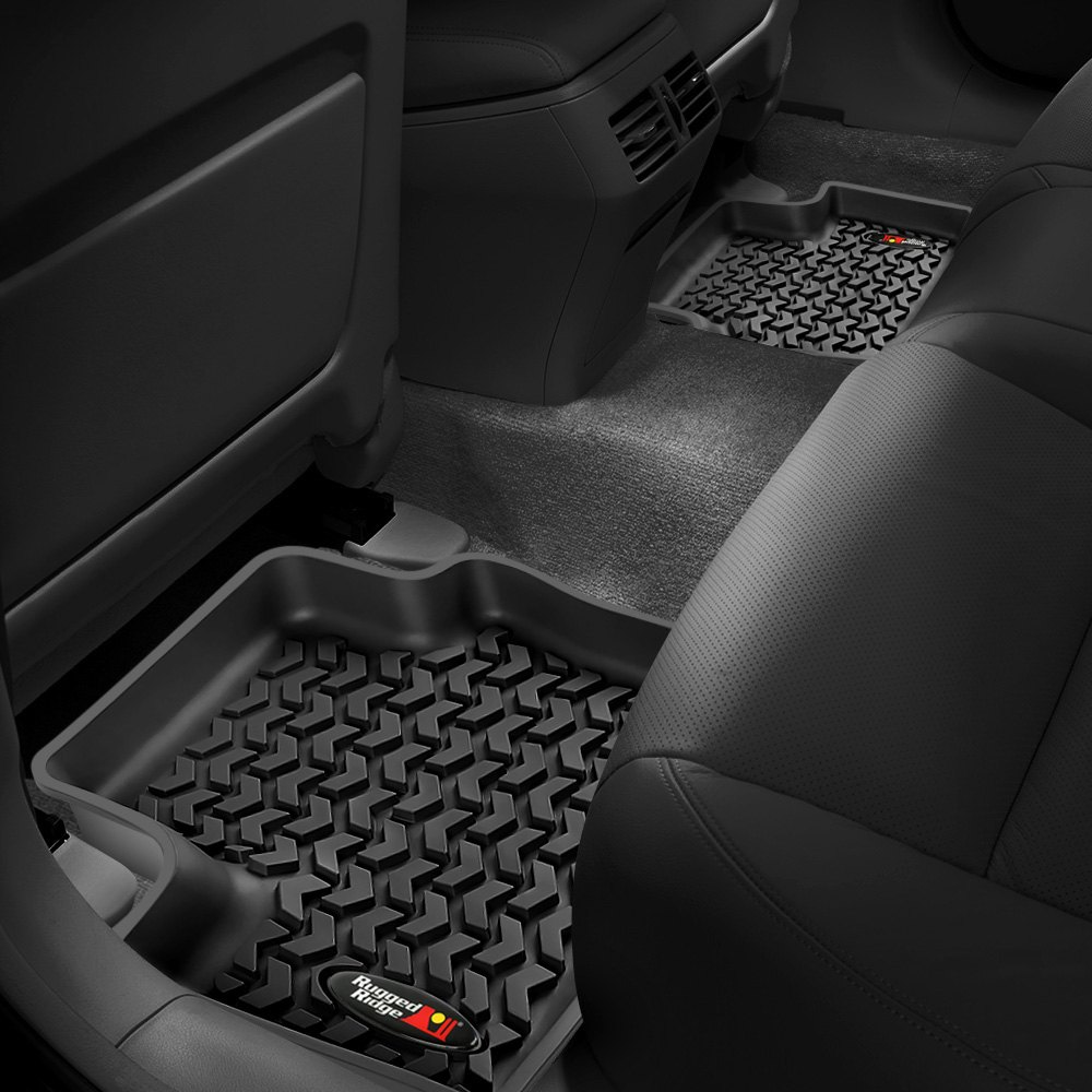 itm jeep liner terrain floor all rugged ridge liberty mats kit