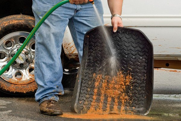 ... ProtectionRugged Ridge®   All Terrain Floor Liners   Just Rinse To  Clean And Go