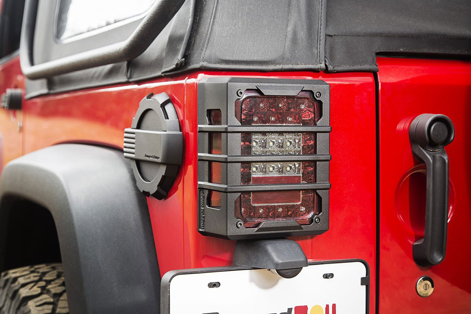 Installeged Ridge Elite Black Tail Light Guards