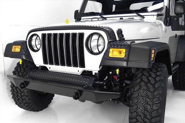 Rugged Ridge 11650 20 97 06 Jeep Wrangler Front Body