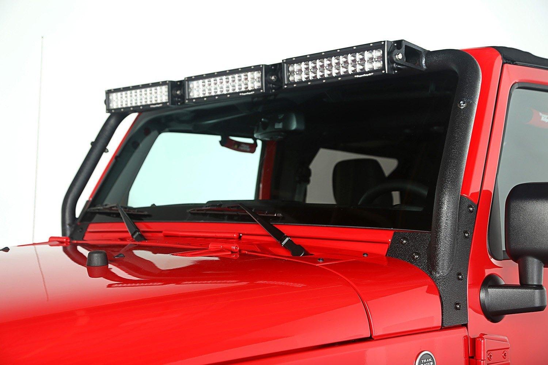 rugged ridge jeep wrangler 2011 windshield frame mount. Black Bedroom Furniture Sets. Home Design Ideas