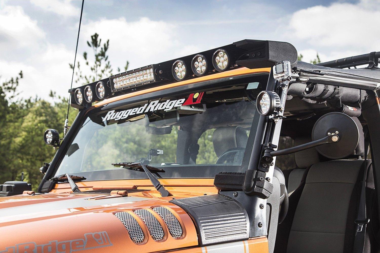 Rugged Ridge 174 Jeep Wrangler 2012 Windshield Frame