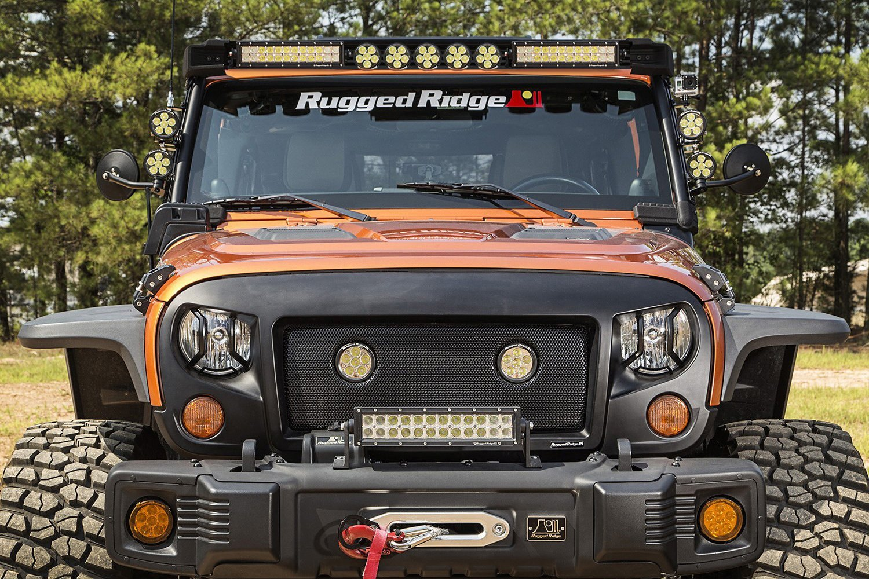 Rugged Ridge 174 11232 56 Windshield Frame Mounted Elite