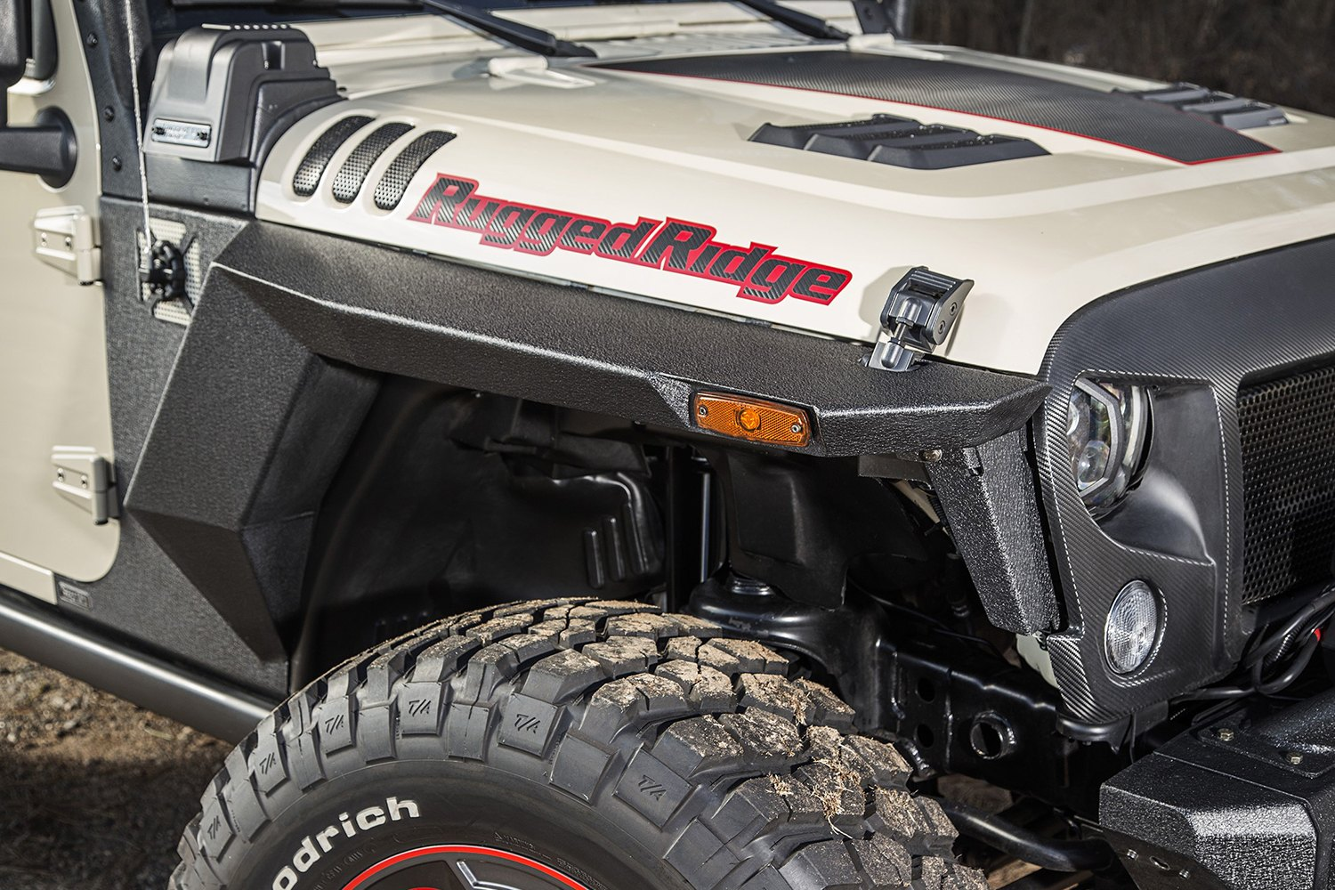 Rugged Ridge 174 11615 05 Xhd Armor Fenders And Liner Kit