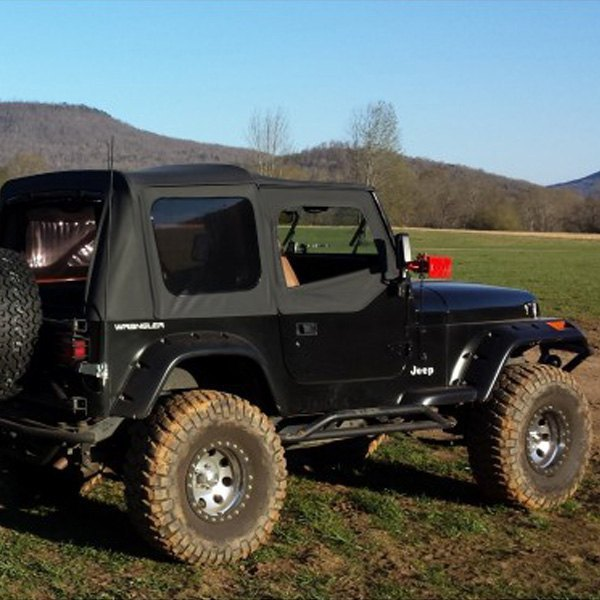 Rugged Ridge 174 11632 10 All Terrain 6 Quot Black Front And