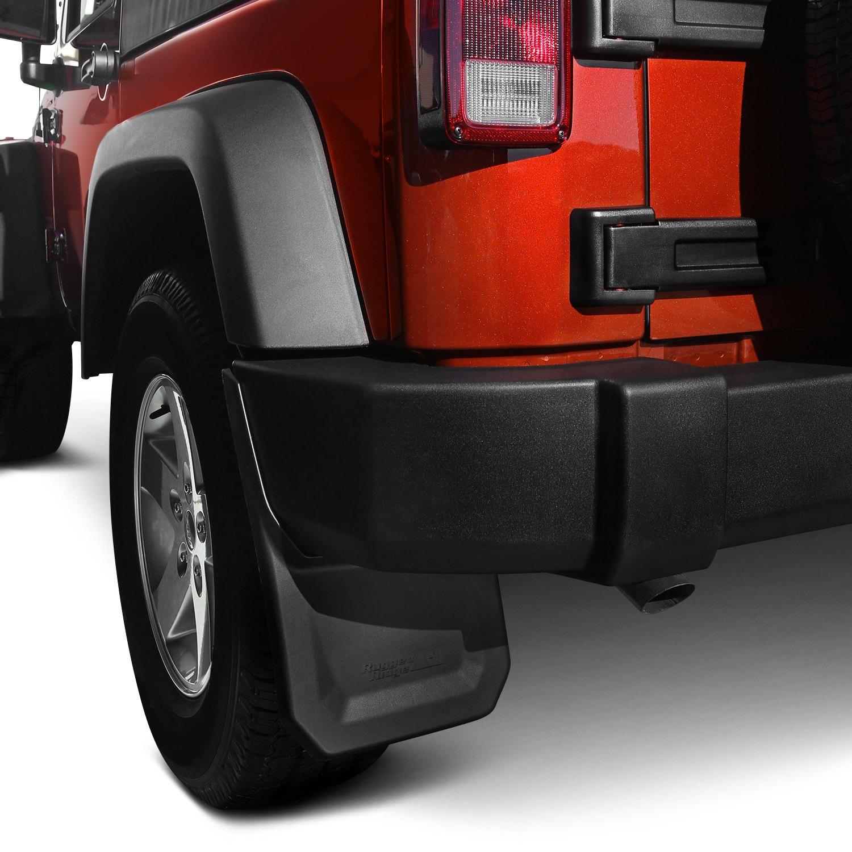 rugged ridge jeep wrangler 2007 2017 mud guards. Black Bedroom Furniture Sets. Home Design Ideas