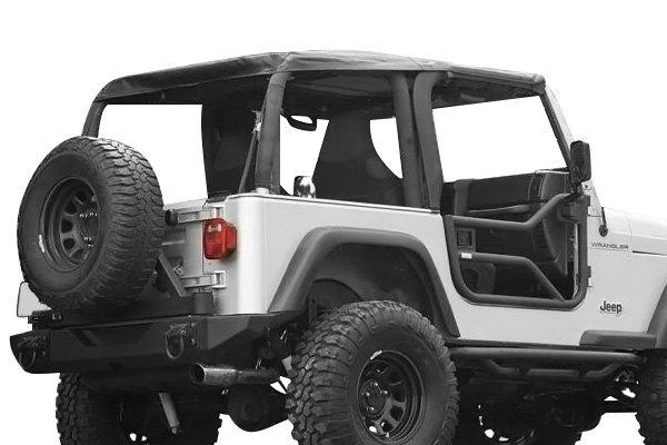 rugged ridge jeep wrangler 1998 xhd bowless soft top. Black Bedroom Furniture Sets. Home Design Ideas