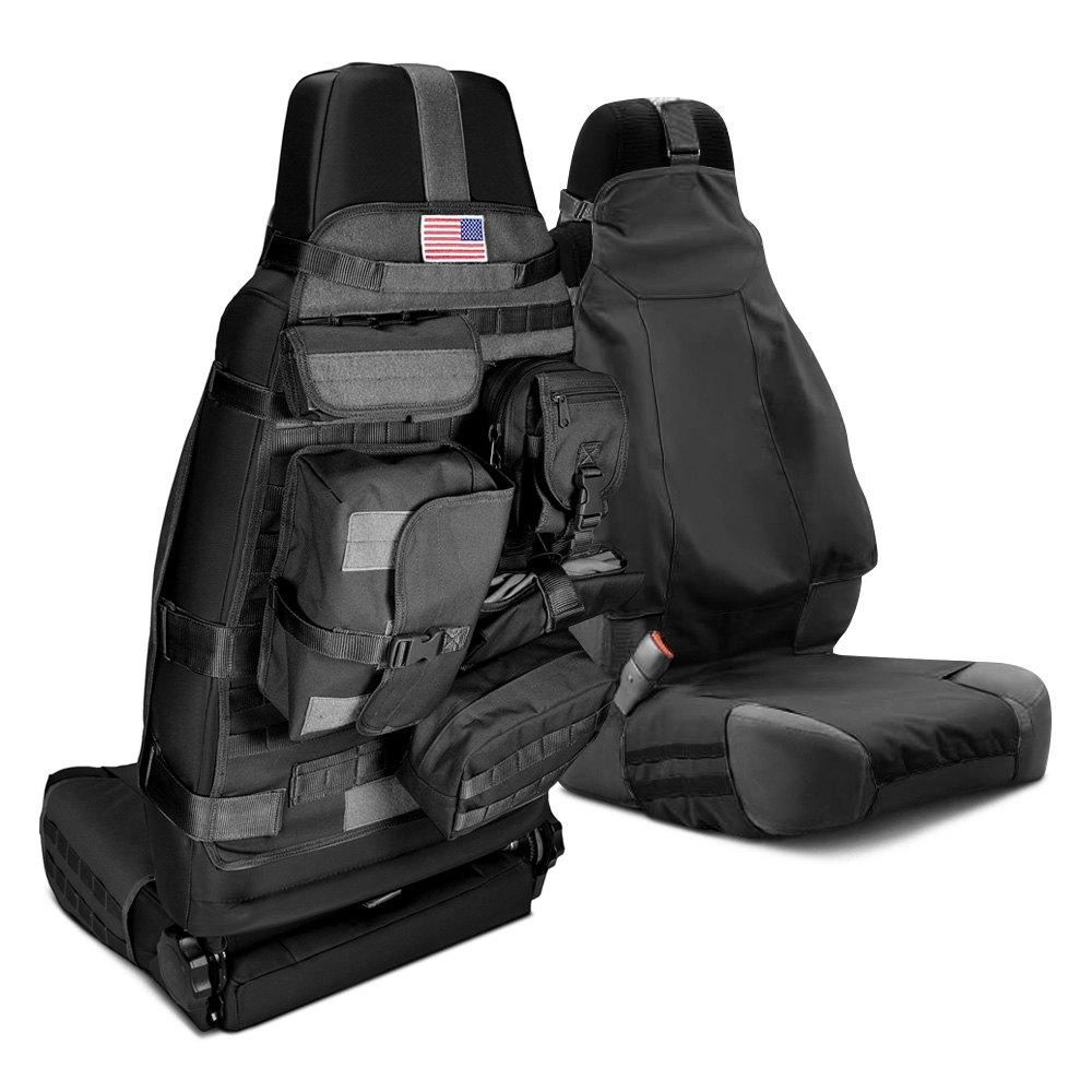 Rugged Ridge 174 13236 01 1st Row Black Cargo Seat Cover