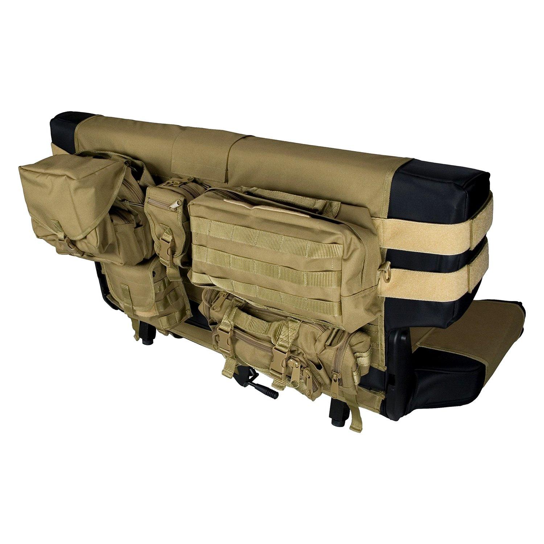 Rugged Ridge 174 13246 04 2nd Row Tan Cargo Seat Cover