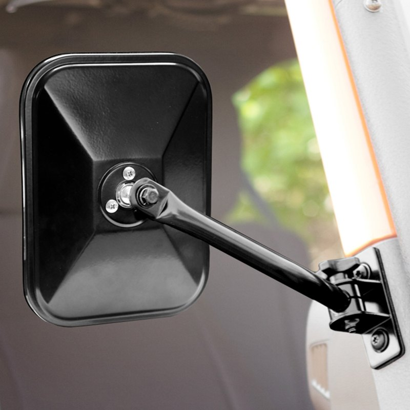 Rugged Ridge 11025 13 Stainless Steel Side View Mirror
