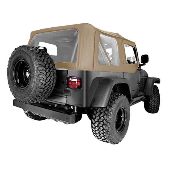 rugged ridge jeep wrangler 2001 factory replacement soft top. Black Bedroom Furniture Sets. Home Design Ideas