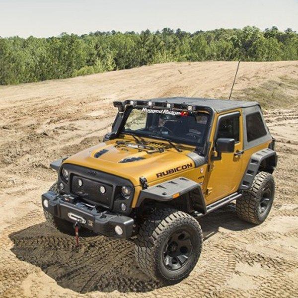 rugged ridge jeep wrangler 2007 bowless soft top. Black Bedroom Furniture Sets. Home Design Ideas