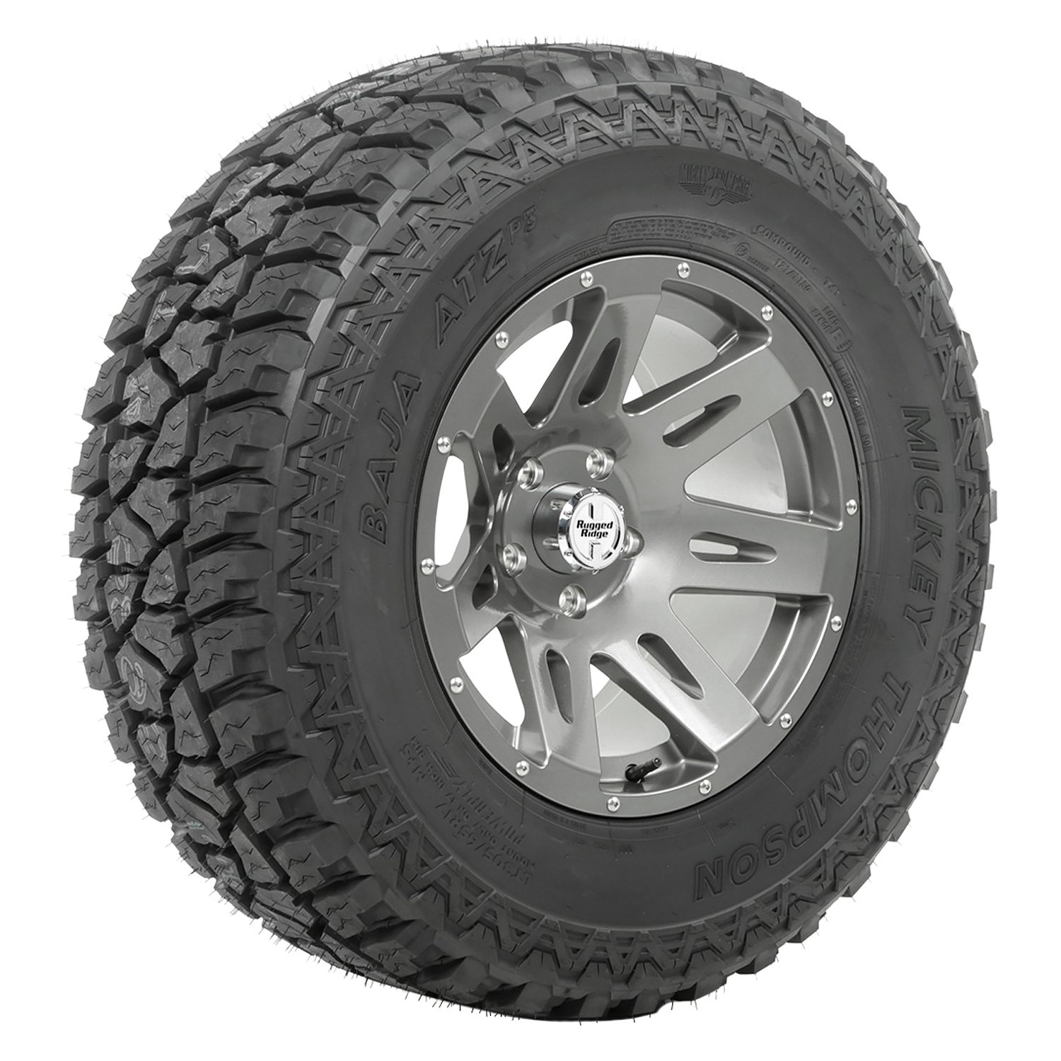 rugged ridge 17 7 spokes xhd gun metal wheels and tires package. Cars Review. Best American Auto & Cars Review