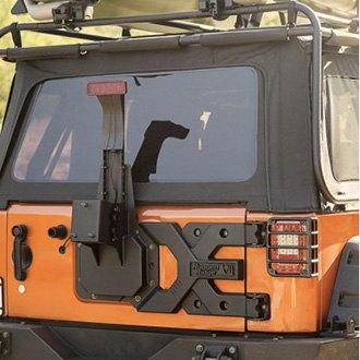 Rugged Ridge 174 11546 50 Spartacus Hd Tire Carrier Kit
