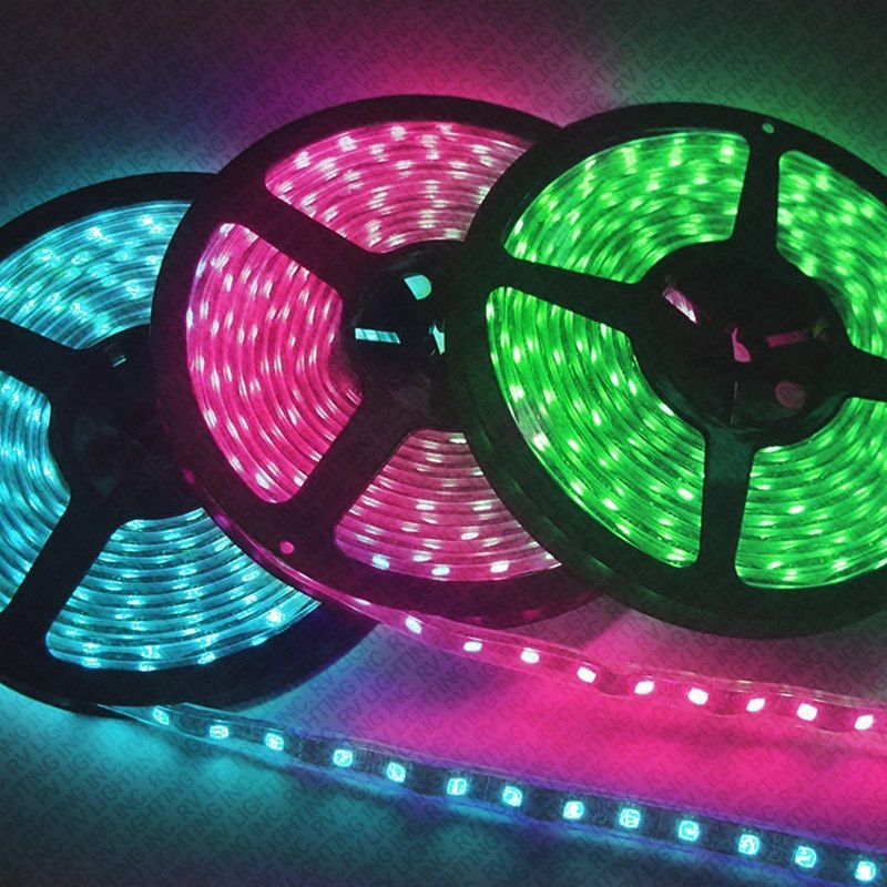 rv lighting rgb 60 39m eco led led strip rgb. Black Bedroom Furniture Sets. Home Design Ideas