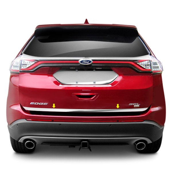 saa rd55610 ford edge 2015 polished rear deck trim. Cars Review. Best American Auto & Cars Review