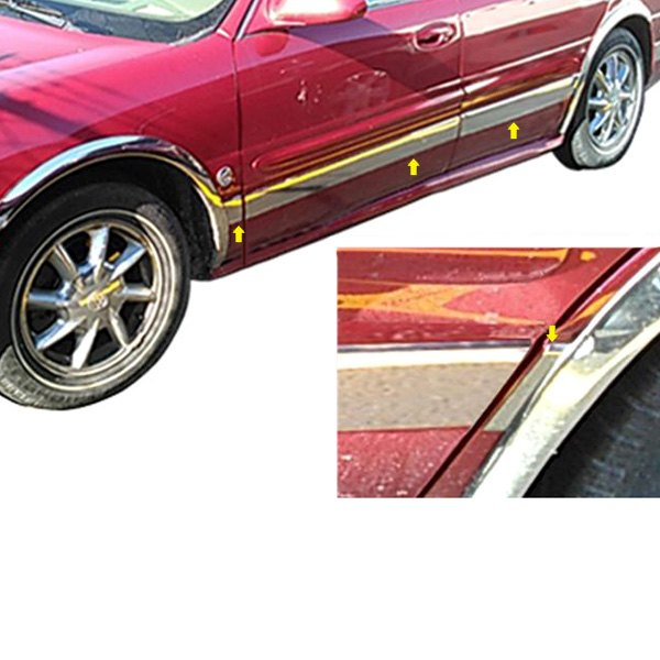 2000 Buick Lesabre For Sale: Buick Le Sabre 2001 U-Type Polished Rocker Panel Covers