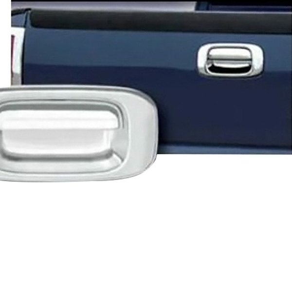 saa dh39182 chrome tailgate handle cover. Black Bedroom Furniture Sets. Home Design Ideas