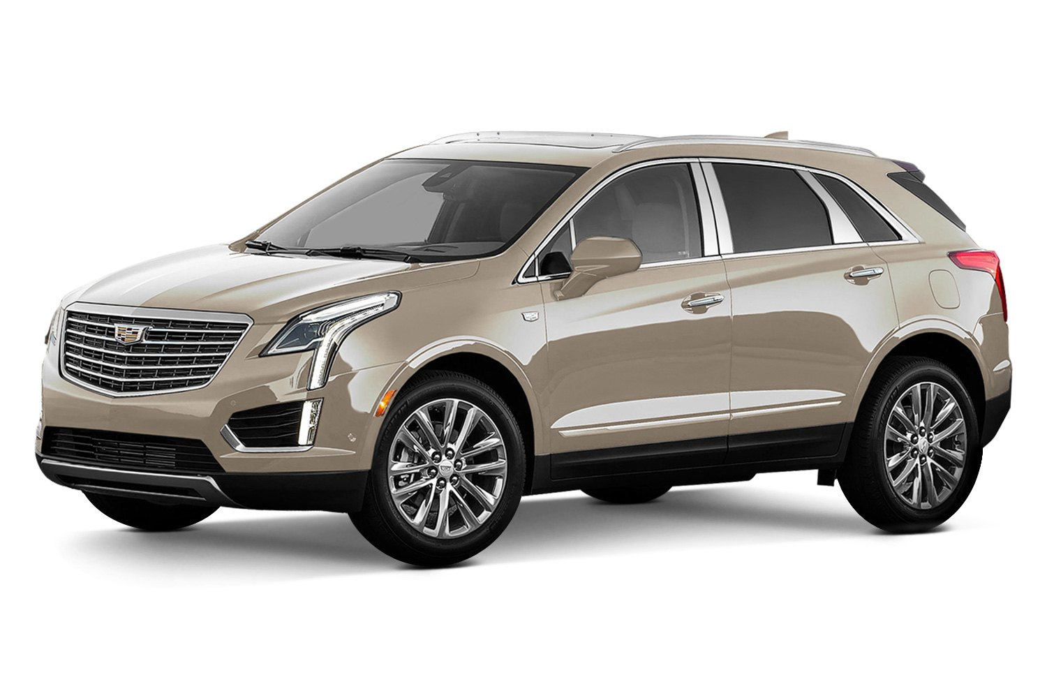 saa cadillac xt5 2017 polished pillar posts. Black Bedroom Furniture Sets. Home Design Ideas
