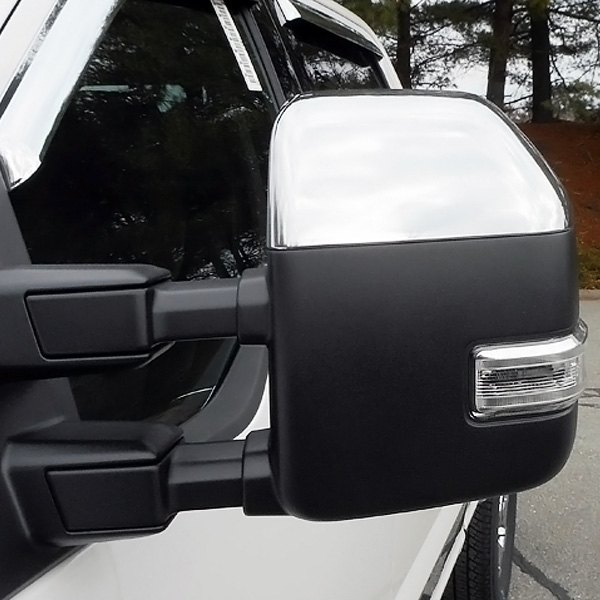 Saa 174 Ford F 250 2018 Chrome Towing Mirror Covers