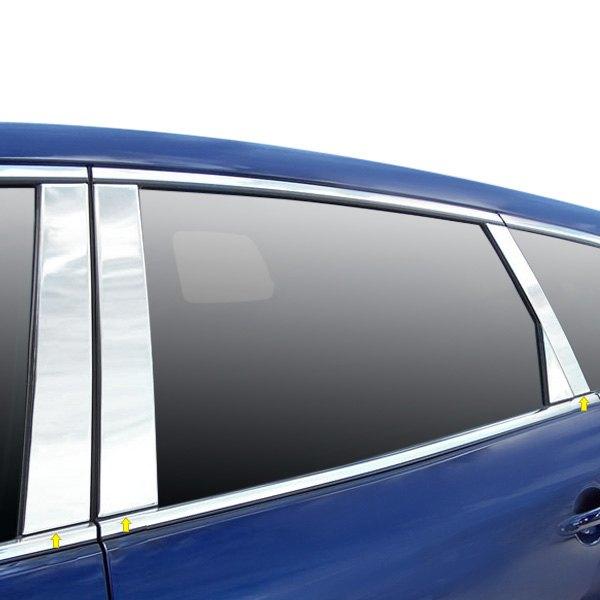 2012 Mazda Cx 9 Interior: For Mazda CX-9 2007-2012 SAA PP27726 Polished Pillar Posts