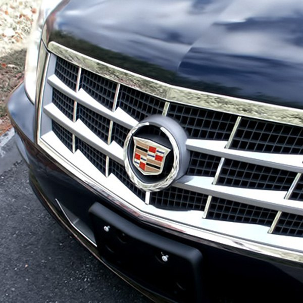 Cadillac Stsv: Cadillac STS / STS-V 2008 6-Pc Polished Main Grille