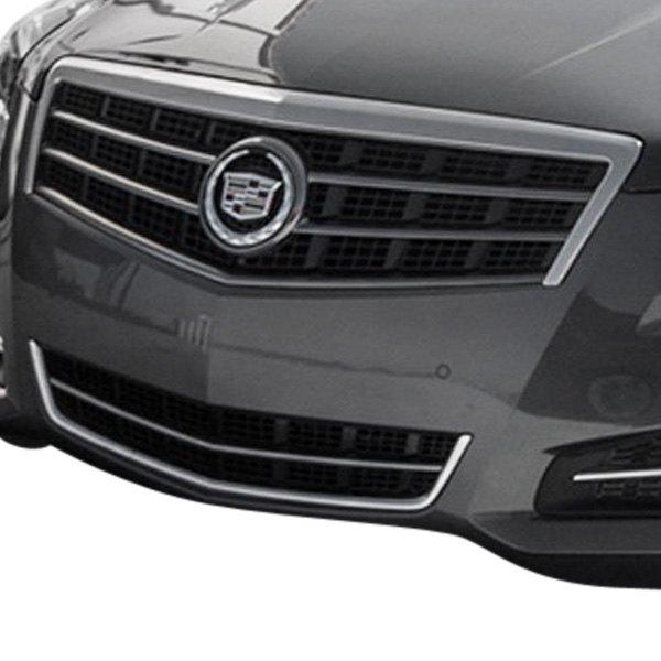 Custom Cadillac Ats: For Cadillac ATS 2013-2015 SAA 6-Pc Chrome Billet Main