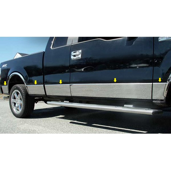 Ford F-150 2004 L-Type Polished Rocker Panel Covers