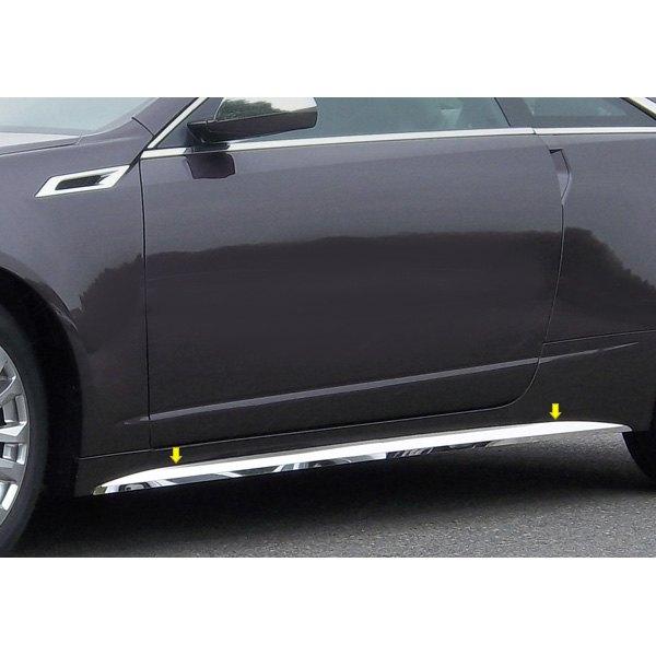 2016 Cadillac Cts V Rocker Panels: Cadillac CTS / CTS-V 2011 O-Type Polished Rocker