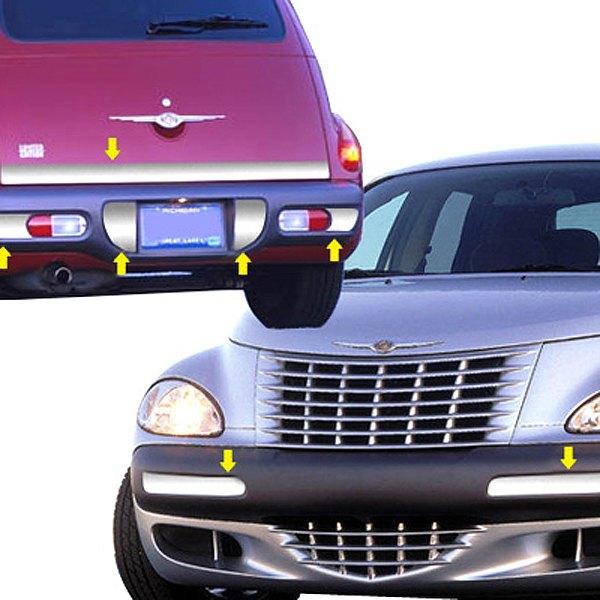 Chrysler PT Cruiser 2001 Polished Bumper Trims
