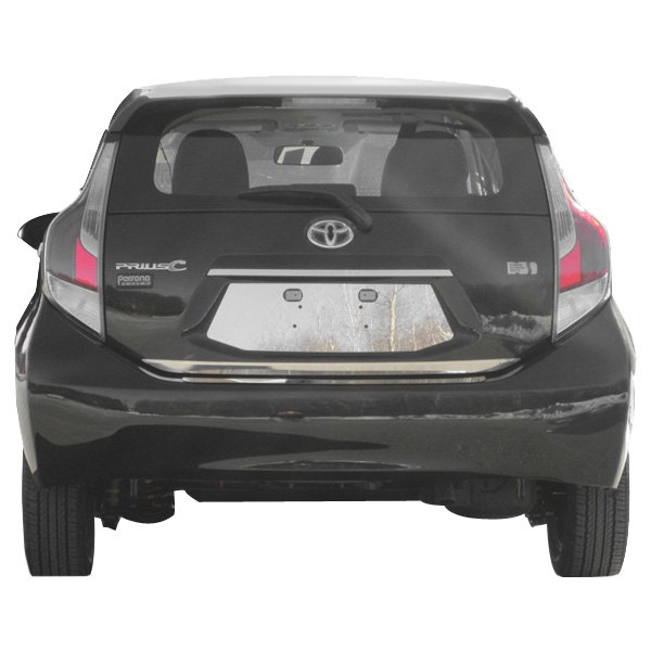 For Toyota Prius C 2012-2019 SAA LP12705 Polished License
