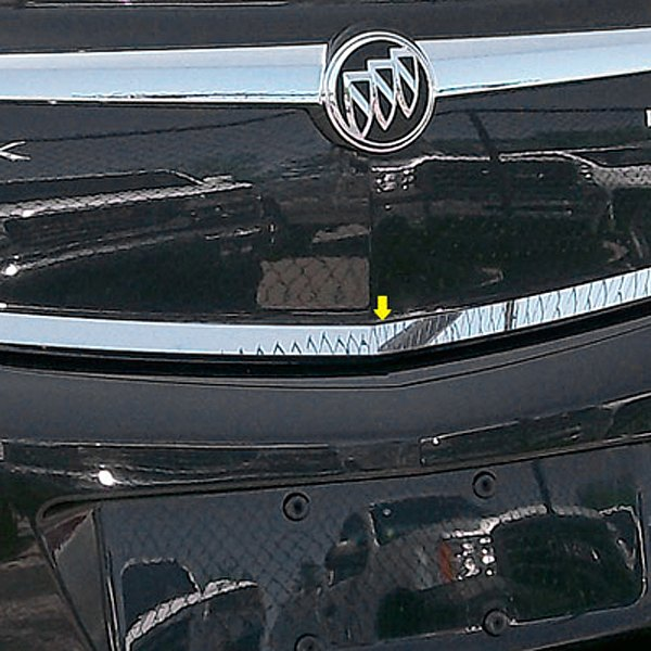 2013 Buick Regal Suspension: For Buick Regal 2011-2013 SAA Polished Rear Deck Trim