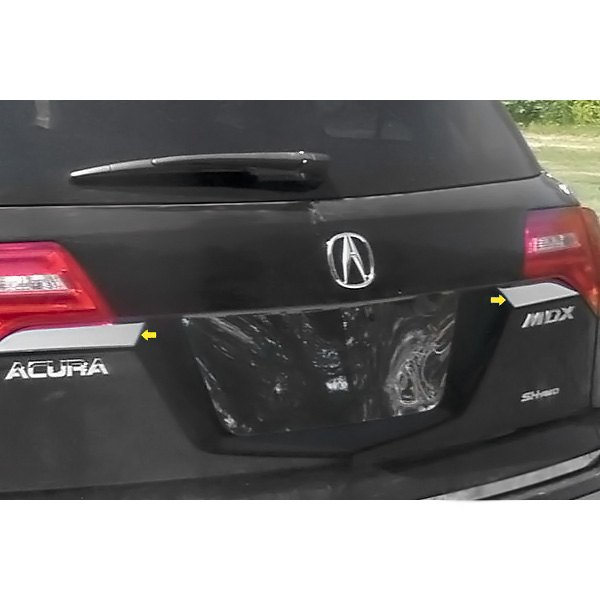 For Acura MDX 2007-2013 SAA Polished Rear Hatch Trim