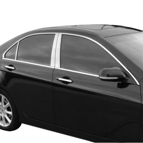 Acura TSX 2006 Polished Pillar Posts