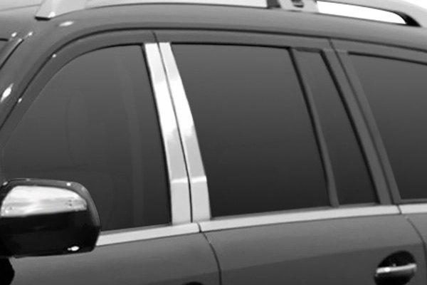 Saa mercedes gl class 2007 polished pillar posts for Mercedes benz gl450 chrome accessories