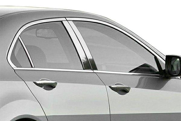 Saa Acura Tsx 2010 Polished Pillar Posts
