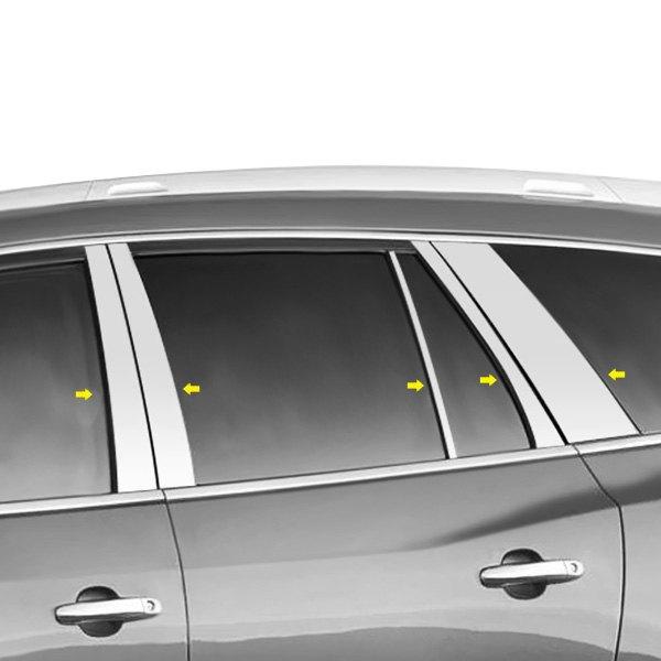 Buick Enclave Accessories 2011: SAA PP48533 08-13 Buick Enclave Door Pillar Posts Window
