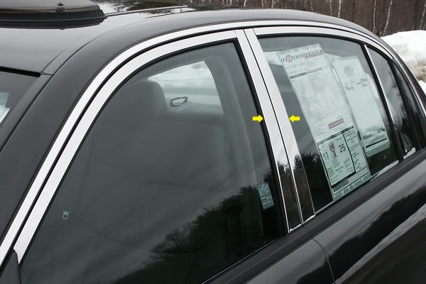 Kia Performance Center >> SAA® - Kia Amanti 2004 Polished Pillar Posts