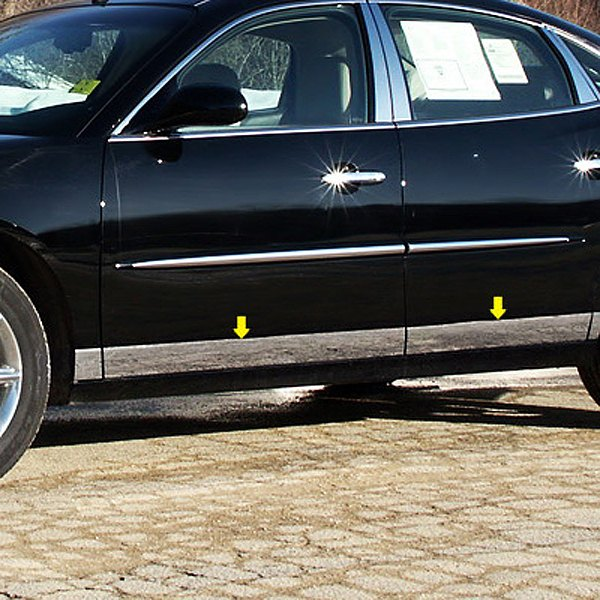 Saa 174 Buick Lacrosse 2005 L Type Polished Rocker Panel Covers