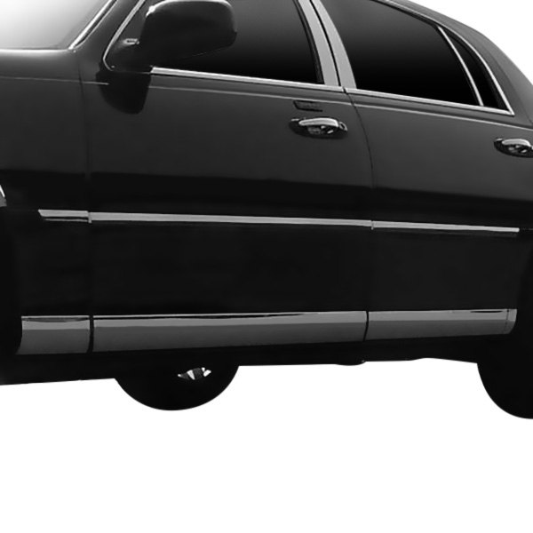 saa lincoln town car 2000 2001 l type polished rocker panel covers. Black Bedroom Furniture Sets. Home Design Ideas
