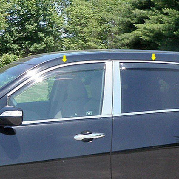 Acura MDX 2007 Polished Window Trim Package
