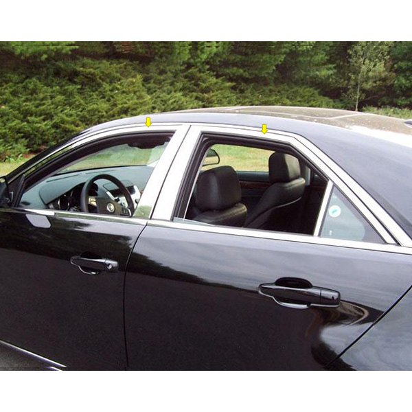 Cadillac Cts 2013 Price: For Cadillac CTS 2008-2013 SAA WP48252 Polished Window Trim Package