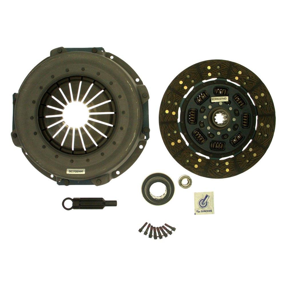 Semi Clutch Kits : Sachs ford f with solid flywheel heavy duty