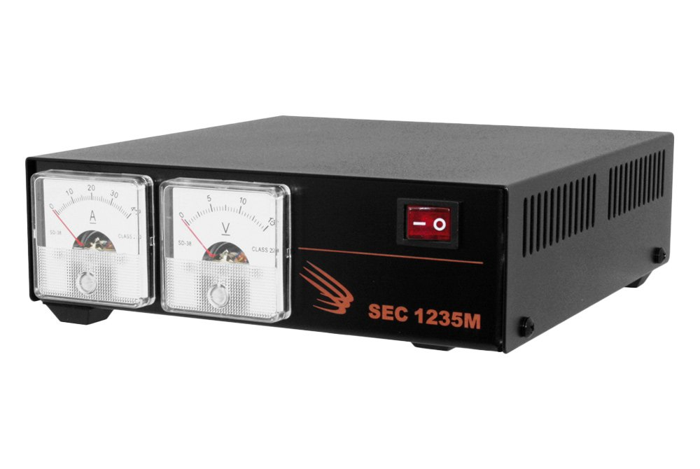 - 120 VAC, 30 Amp AC-DC Desktop Switching Power Supply with Displays
