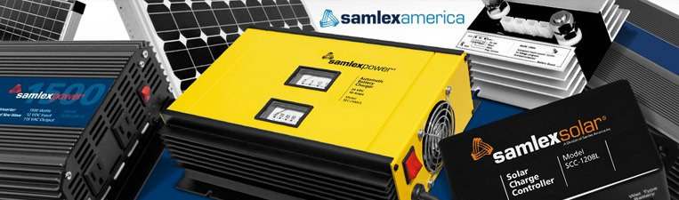 Samlex Power Inverters, Chargers & Solar Kits