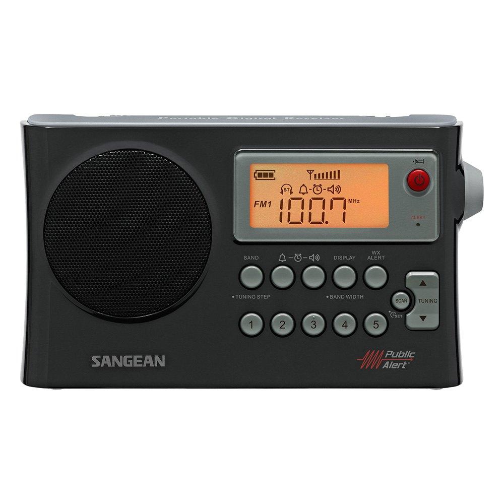sangean prd4w am fm weather alert portable radio. Black Bedroom Furniture Sets. Home Design Ideas