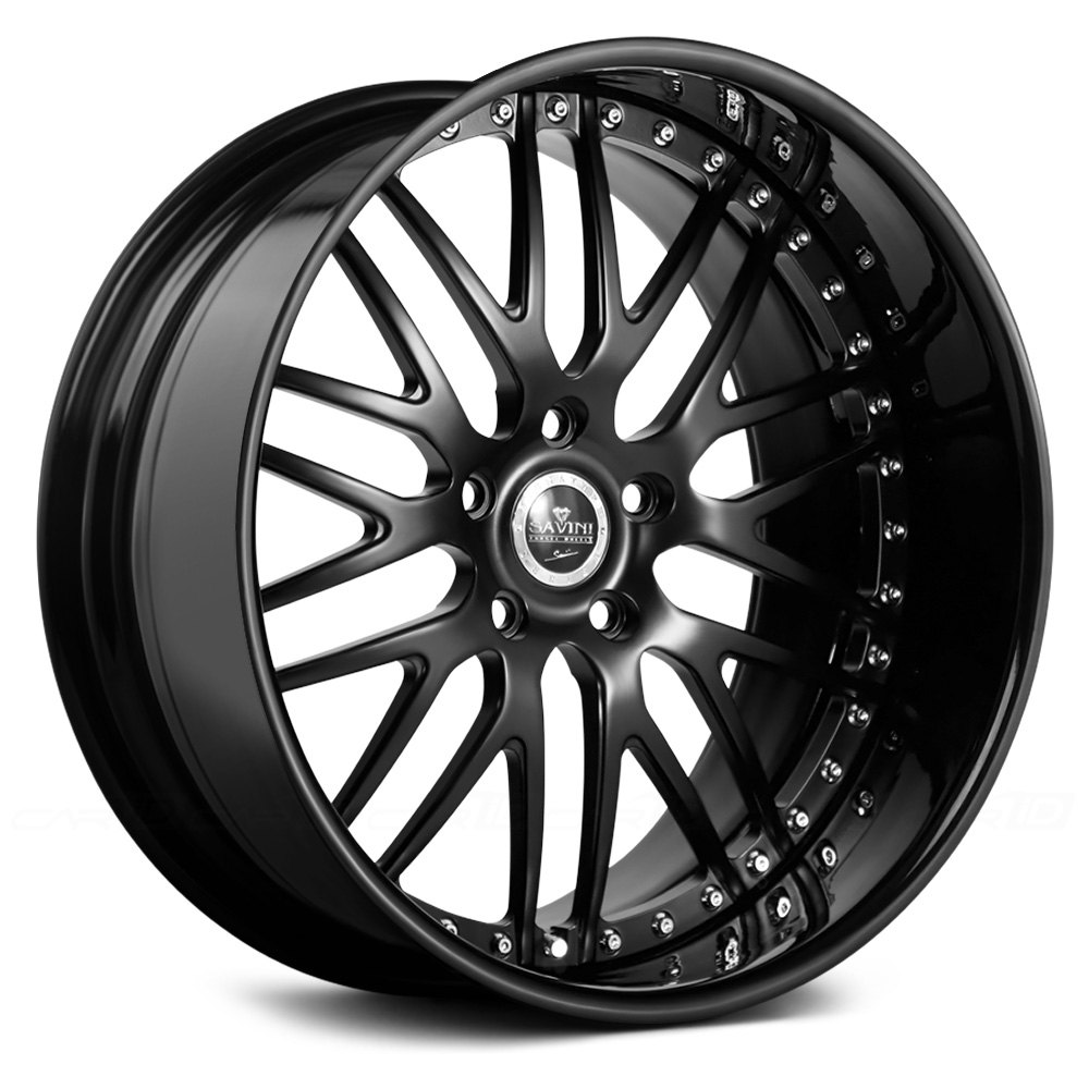 Savini 174 Sv25 3pc Wheels Custom Painted Rims